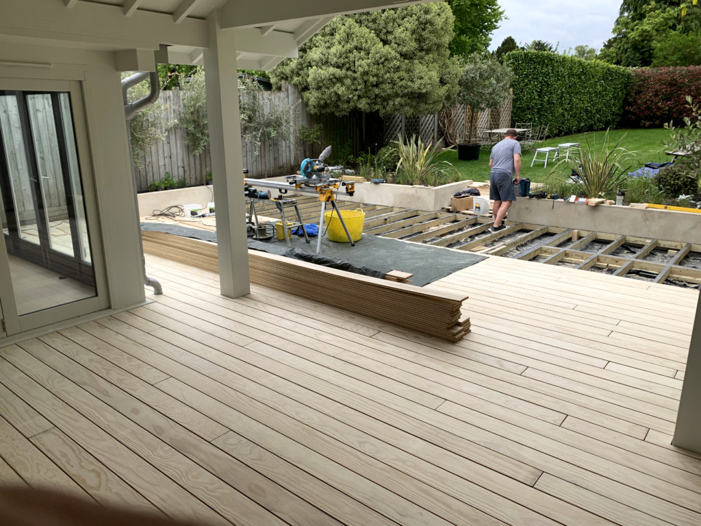 Accoya Decking Installed with Precision