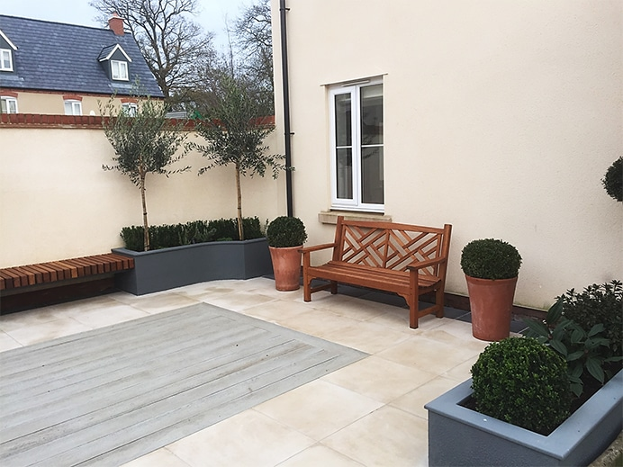 Garden design project is Bicester