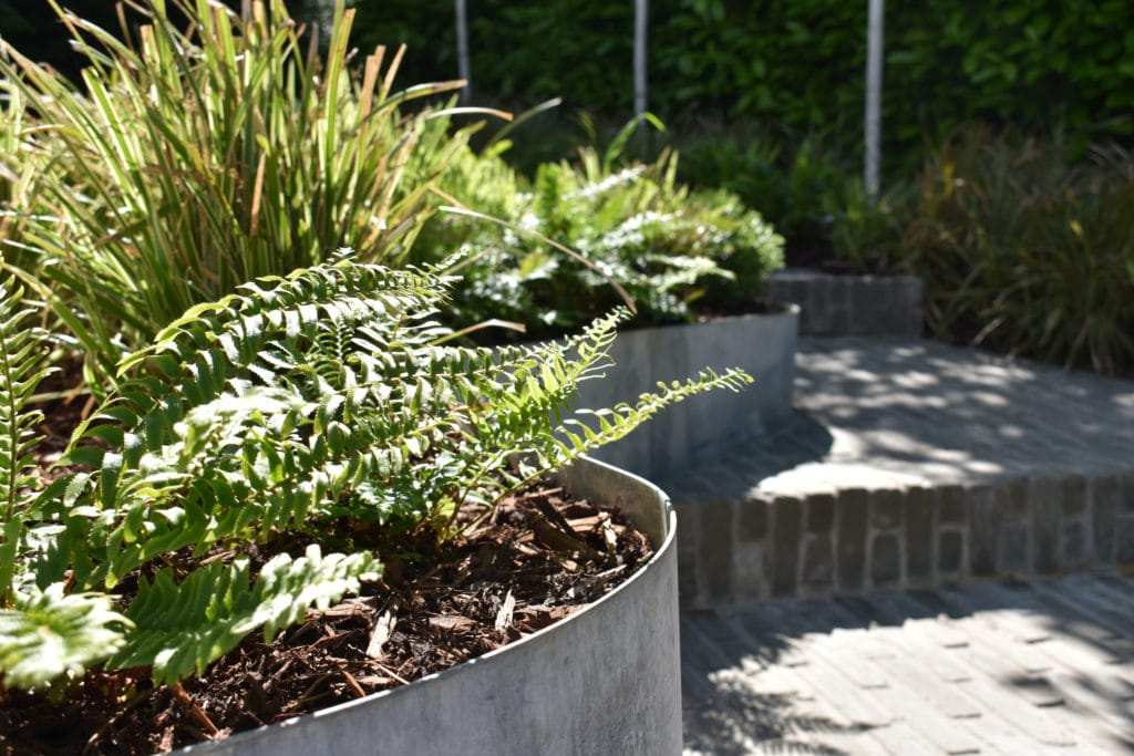 landscaped garden in Berhamsted
