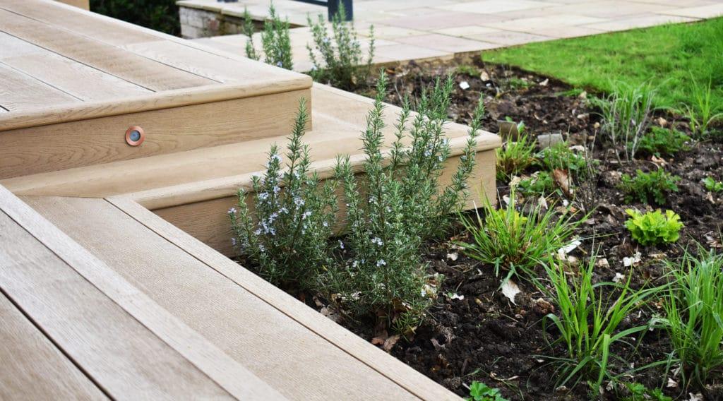 garden design buckinhamshire millboard composite decking