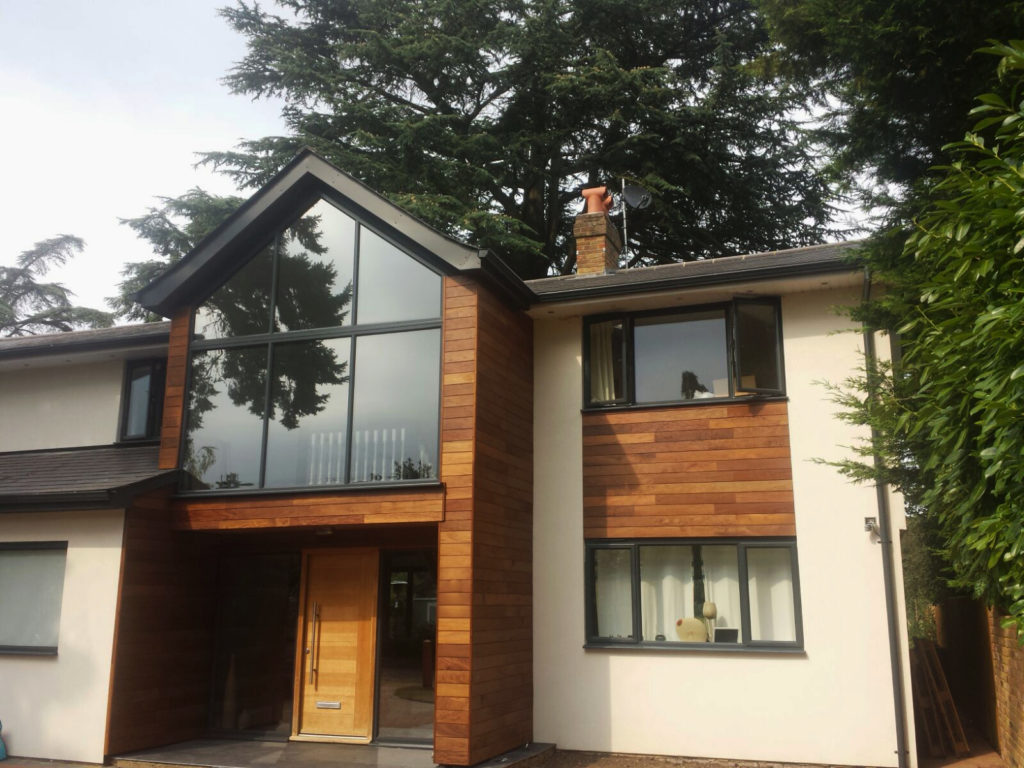 hardwood cladding installation maidenhead