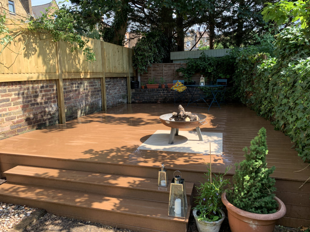 Ecodek composite decking installation london