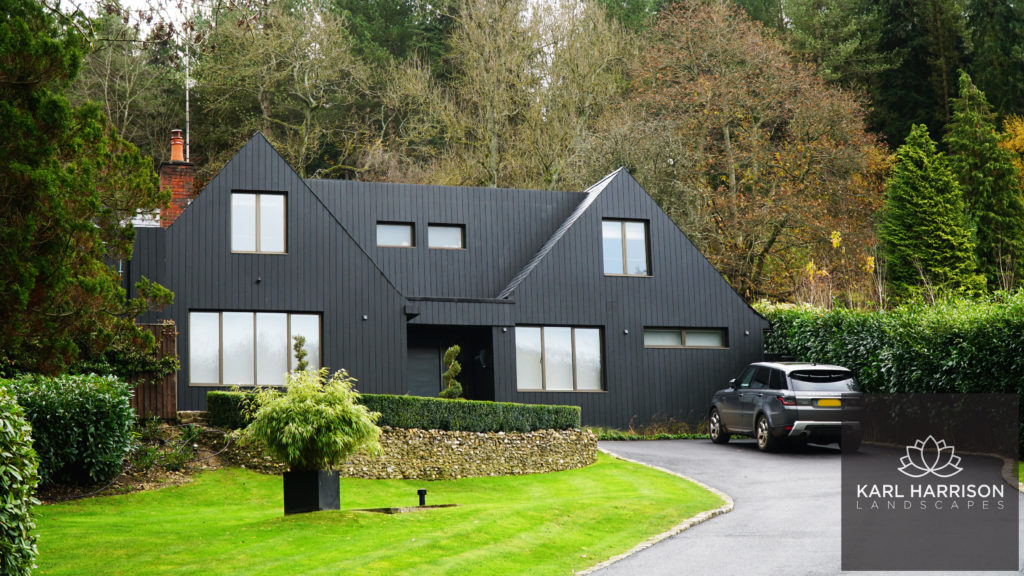 black textured cladding applications