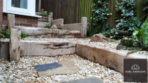Transforming a side garden in Chesham Bois