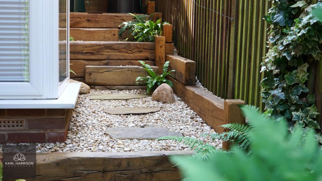 Transforming a side garden in Chesham Bois