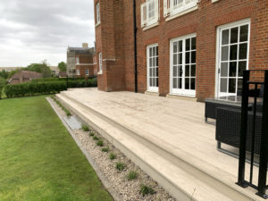 Replacing a composite deck in London