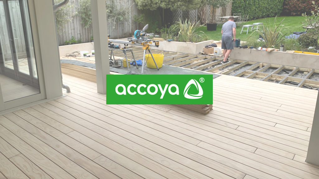 Accoya Decking with Precision