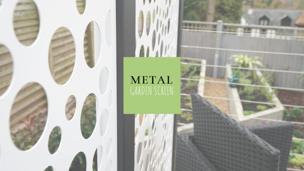 Improving Privacy with Garden Screen Panels.